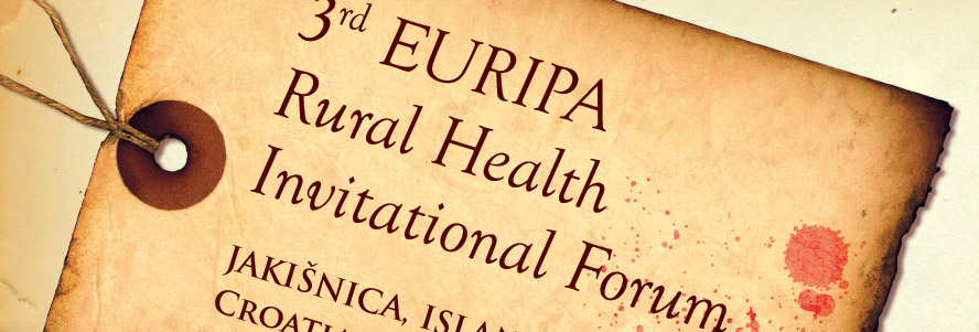3rd EURIPA Rural Health Invitational Forum
